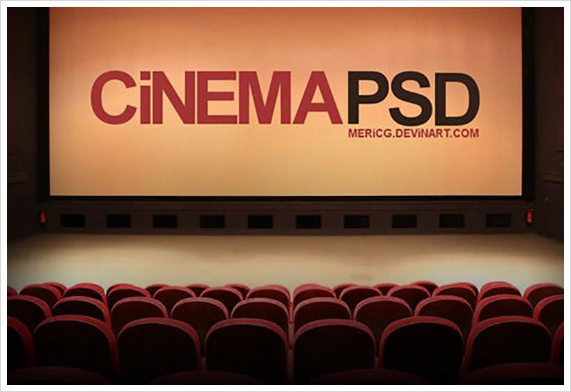 Cinema-PSD