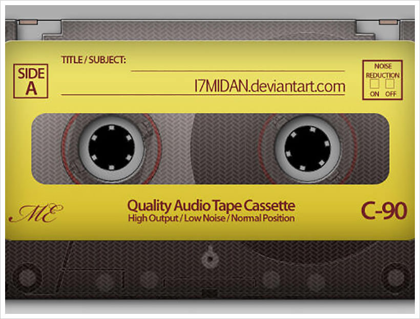 audio-tape-psd