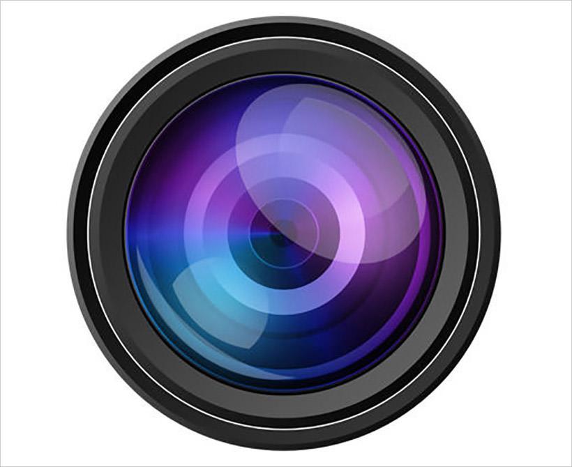 camera-lens-psd