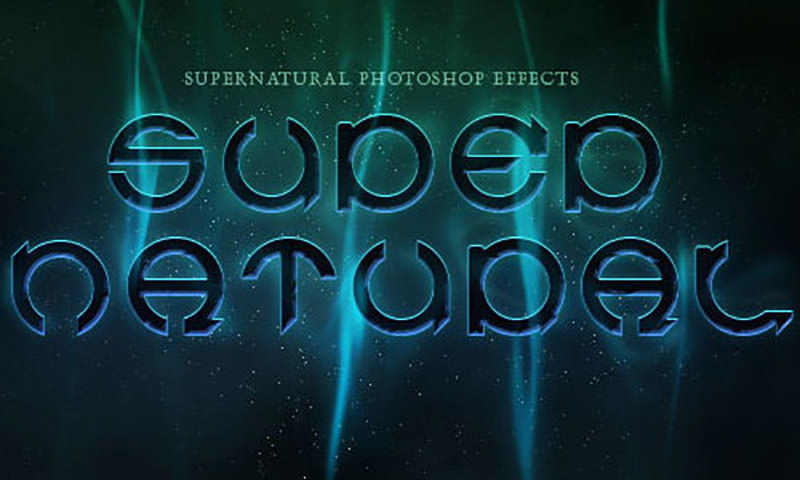 supernatural-text-effect