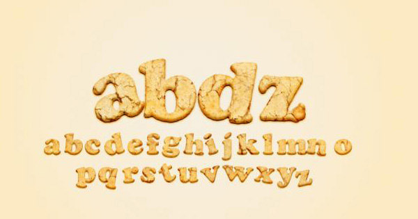 yummy cookies text effect