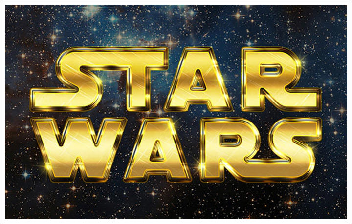 Create A Retro Star wars effect
