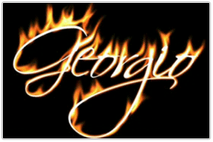 name on fire