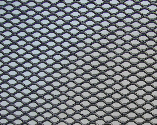 Metallic Grid Texture
