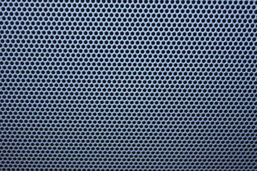 metallic holes texture