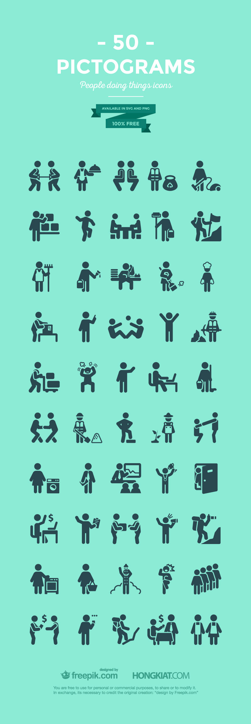 free pictogram icons