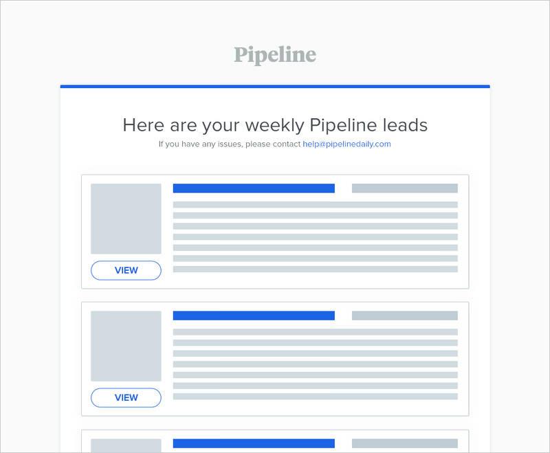 Pipeline newsletter