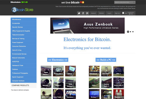 BitcoinStore