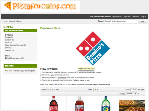 PizzaForCoins