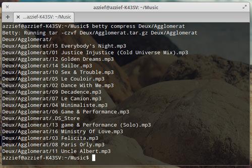 Compressing Folder