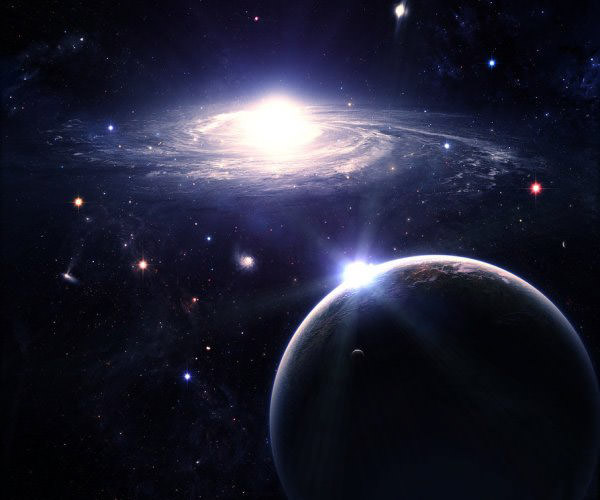 Galactic Segregation Absolutely Stunning Space and Planets Wallpapers