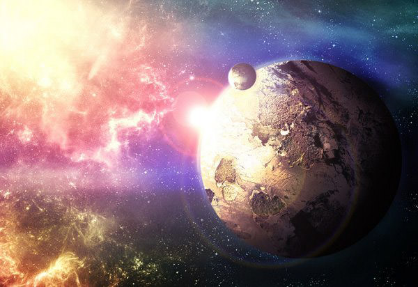 Planet Gold Mine Absolutely Stunning Space and Planets Wallpapers