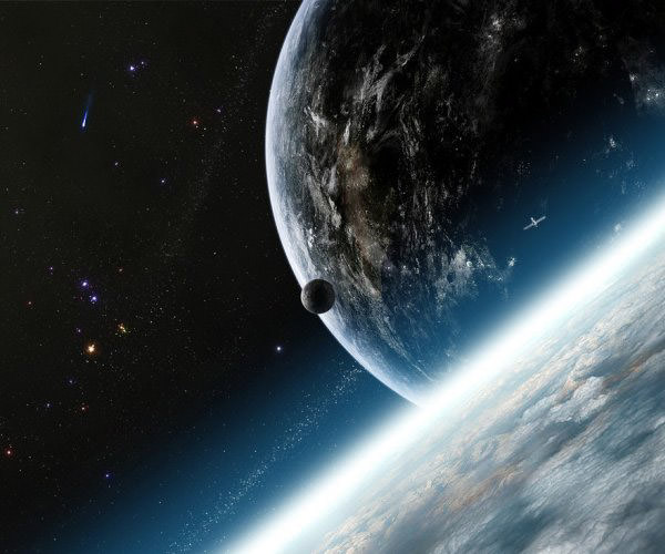 Western HemisphereAbsolutely Stunning Space and Planets Wallpapers
