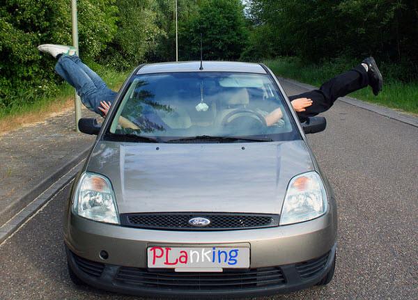 car plank