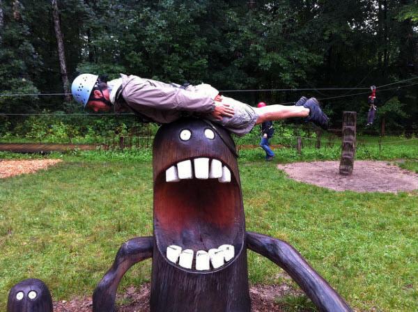 plank the monster