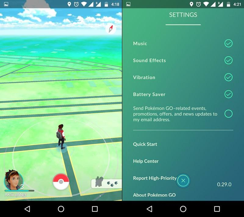 Q. How to save battery life while playing Pokemon Go?
