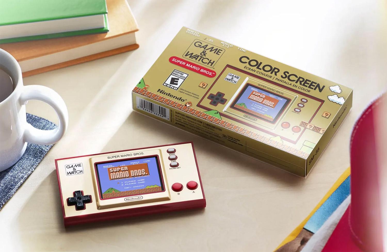 Портативная консоль Super Mario Bros