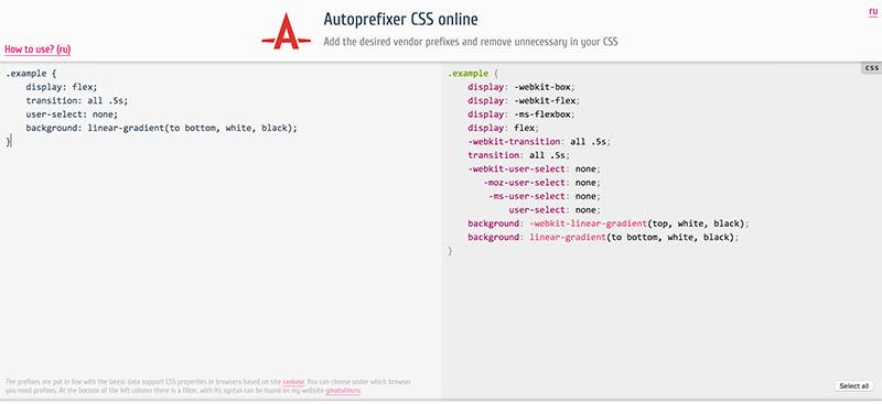 Autoprefixer PostCSS Plugin