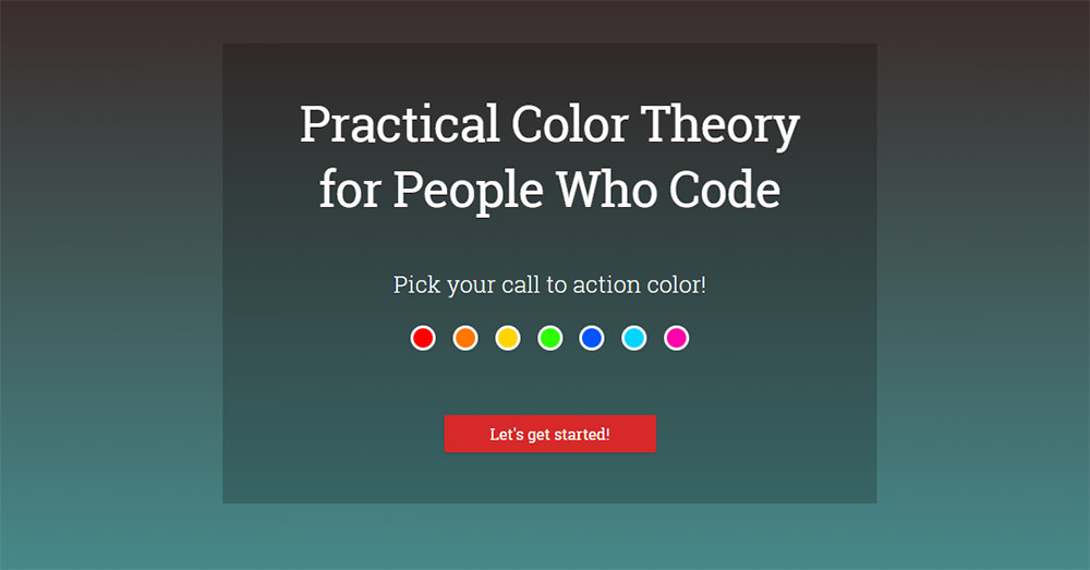 practical color theory homepage
