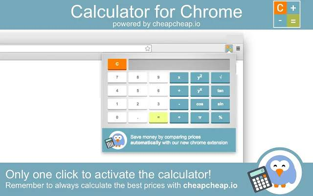 calculator for chrome