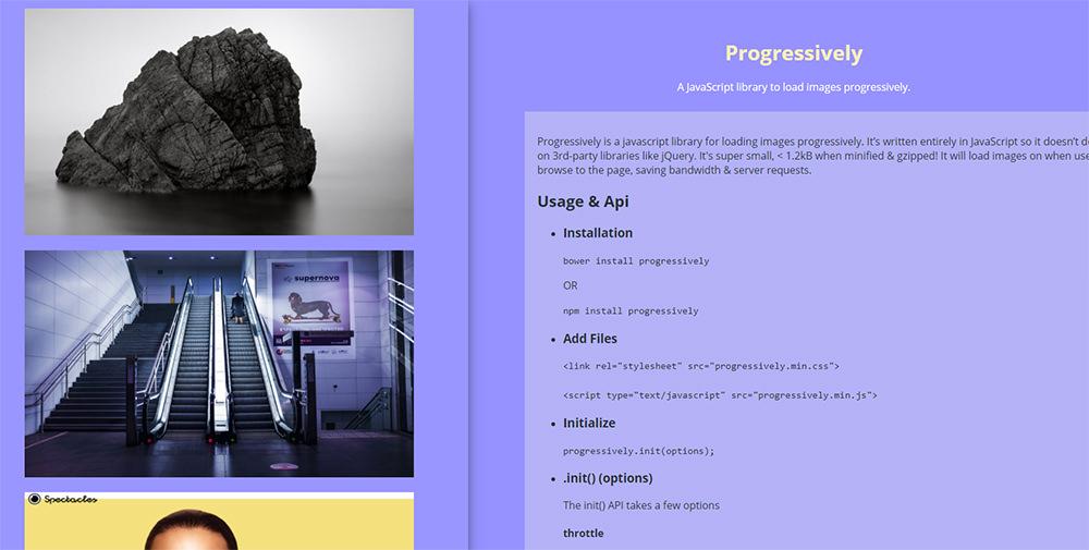progressively webapp script