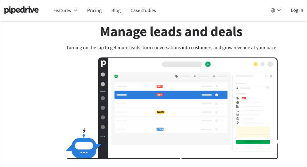 project management tool PipeDrive