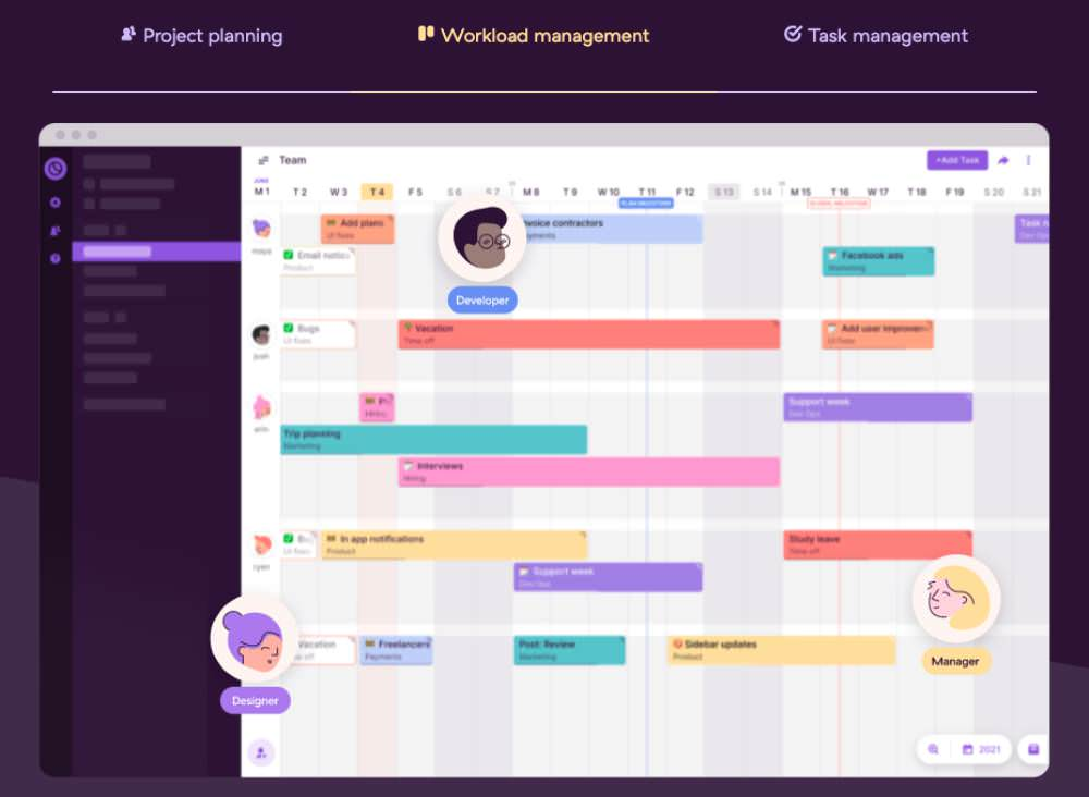 project management tool Toggl Plan
