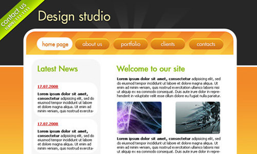 Astonishing 40 Greatest Web Interface Design Photoshop Tutorials Part I Inspirational Interior Design Netriciaus