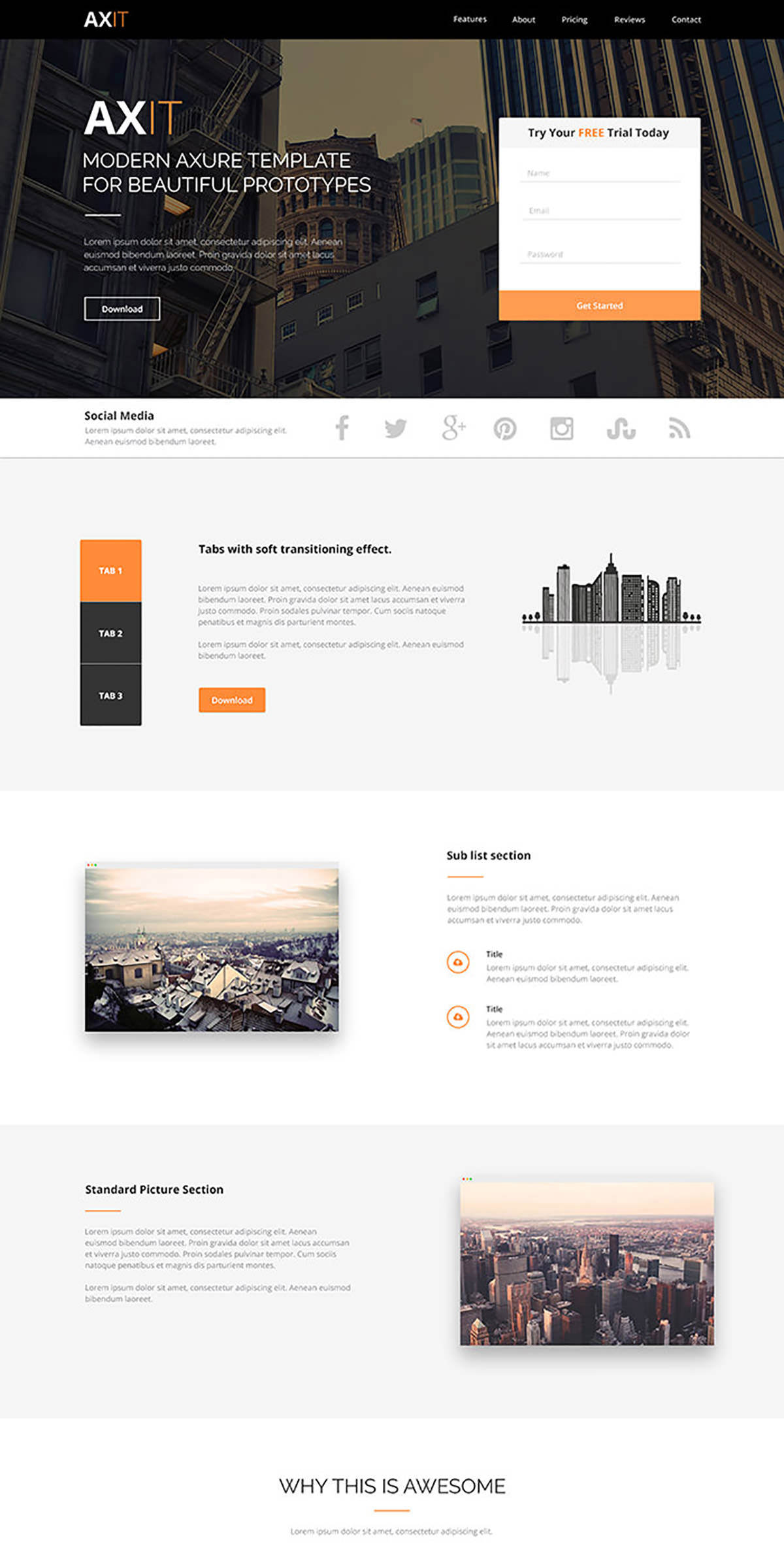 60 Free Beautiful Psd Website Templates To Download 2020 Hongkiat