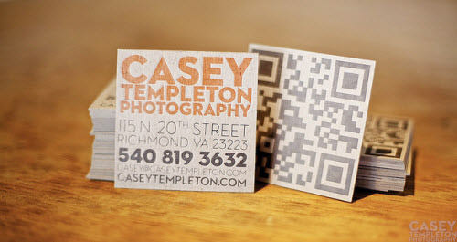 qr code business-card