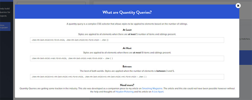 what are quantity queries