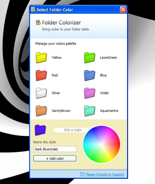 Colorize Custom Selection