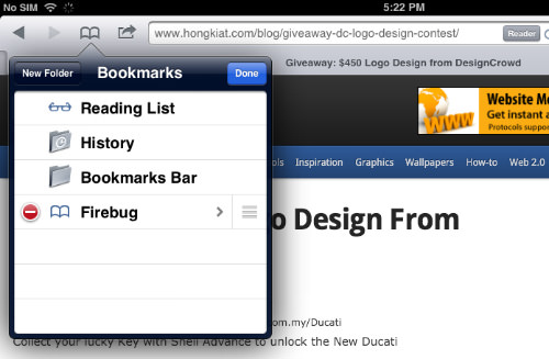Firebug Bookmark Edit