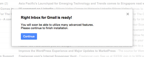 Gmail is ready
