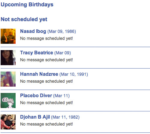 How To Schedule Facebook Birthday Greetings in Advance Quicktip – Birthday Greetings Facebook