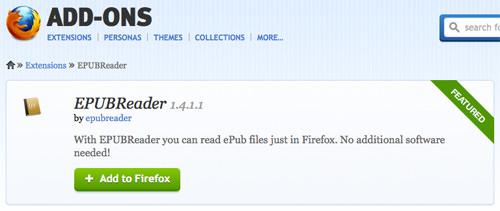 ePub Firefox