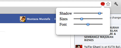 Font and Box Sizes