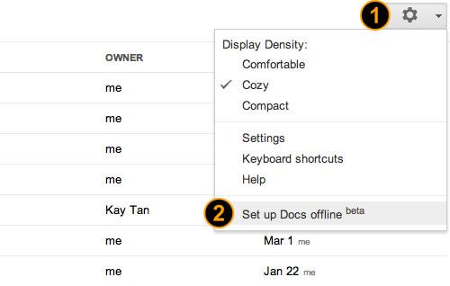 Setup Docs Offline