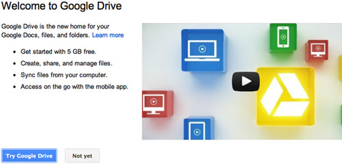 Try Google Drive