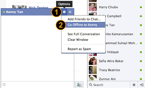 hide facebook chat