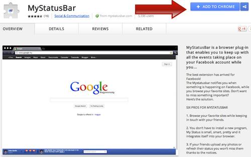 Install Mystatusbar