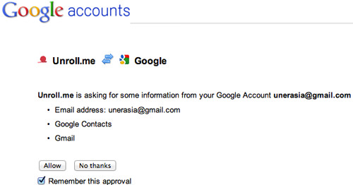 Google Connect
