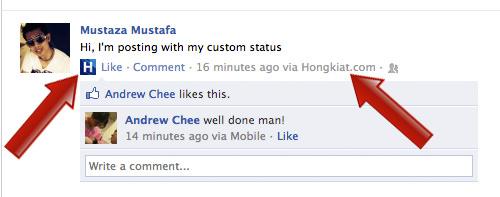 Custom Status