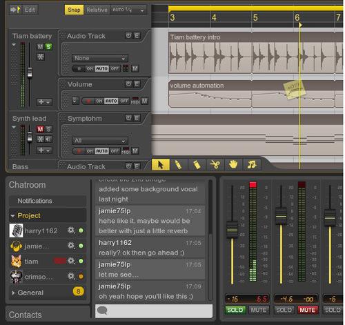 Ohm Studio Project Chat