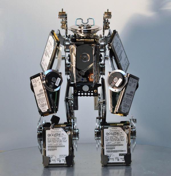 hard disk drive robot