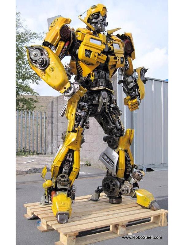 recycled bumblebee