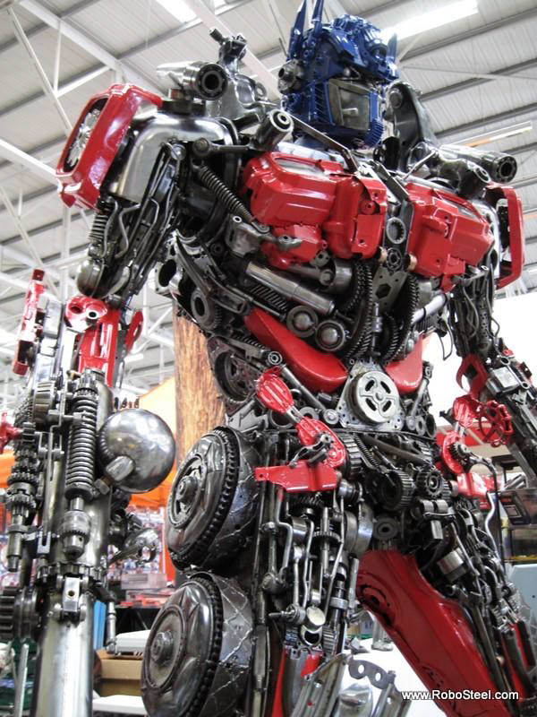 recycled optimus prime