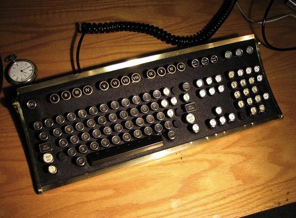 stempunk keyboard