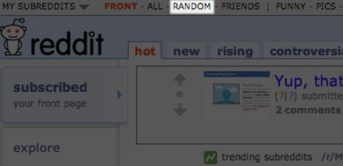 Reddit Random