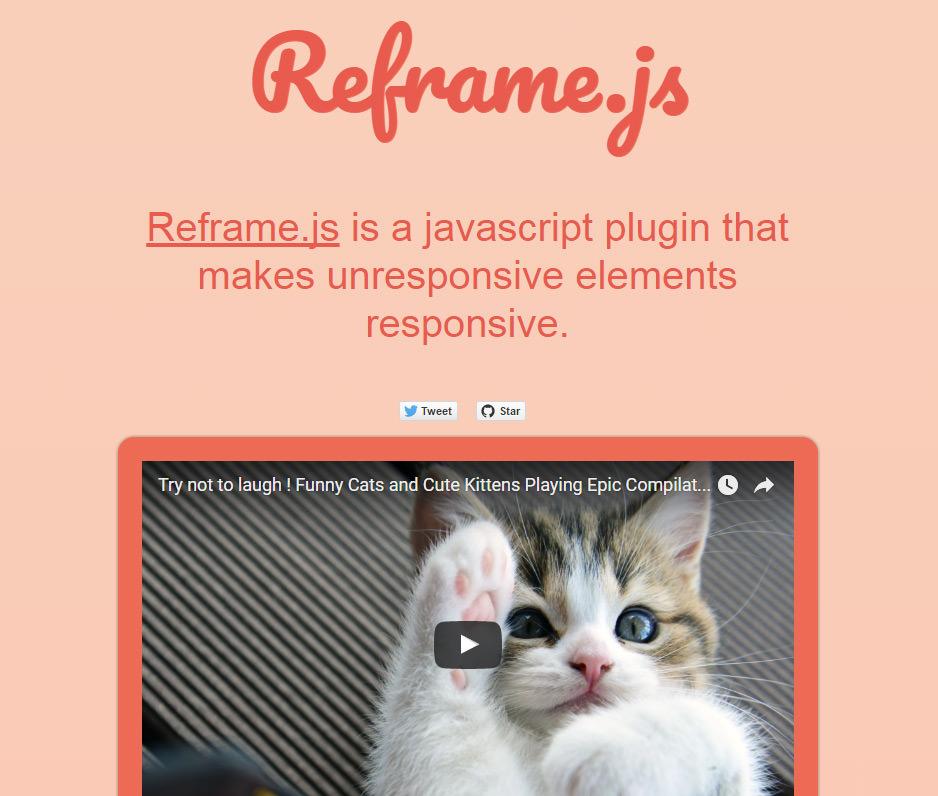 reframejs homepage